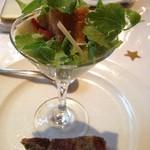 トラットリア ダ ナオシ - 前菜のサラダ