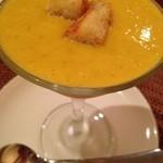 トラットリア ダ ナオシ - かぼちゃのスープ