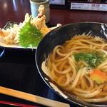 福来たる - 料理写真:桜島鶏ささみ天うどん【780円】(14.11月)