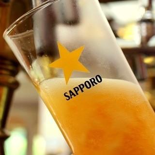 泡までこだわる本物の美味い生ビール8種。海外ビールも