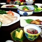 ホテル鶴 - 料理写真:全10品コース