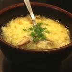 焼肉丼 たどん - たまごスープ