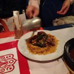 モロッコ料理カサブランカ - チキンのクスクス