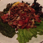 モロッコ料理カサブランカ - レンズ豆のサラダ
