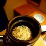川畑 - 【2014年11月】名古屋コーチンの炊き込みです