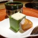 川畑 - 【2014年11月】ブロッコリー豆腐と柿