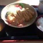 青海食堂 - ・ジャンボトンカツ 620円
