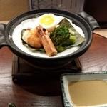 京おばんざい亀麟 - 宝楽:魚・海老・じゃがいも・ブロッコリー・たまご