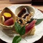 京おばんざい亀麟 - 前菜:おばんざい盛り合わせ