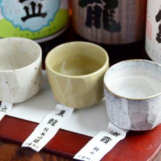 茨木市地酒あります!3種類の地酒めぐりセットも・・・
