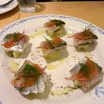 da.b - 秋刀魚のカルパッチョ