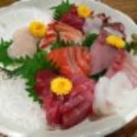 北海道場 - 新鮮魚介のお刺身盛り♪