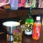 居酒屋 縁 - 縁の焼酎(甲類)ボトル2,000円に替へました。