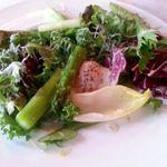 33023656 - 布野日高さんのアスパラガスと半熟卵の温かいサラダ