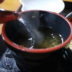 惣六やまと茶屋 - 蕎麦湯
