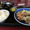 焼肉食堂 あらいえ - 料理写真:ホルモン定食です❗️
