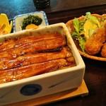 まめたぬき - 牡蠣と穴子の競演(2490円)