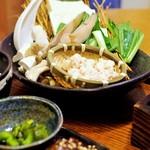 生け簀の銀次 - 北海道産真鱈白子入り小鍋定食