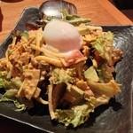 沖縄ごはん くくる食堂 - タコサラダ