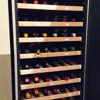 20種類以上のワインを揃えています