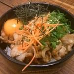 口悦 - 豚肉の生姜焼き丼