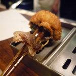 串かつ料理 活 - ☆小鯛の三つ葉巻き(*^。^*)☆