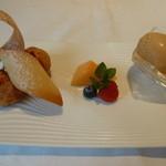 箱根ハイランドホテル ラ・フォーレ - マロンクリームのプチシュー