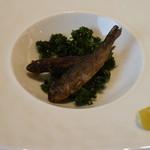 箱根ハイランドホテル ラ・フォーレ - いつものニジマスの前菜