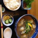 そば廣 - 牡蠣蕎麦