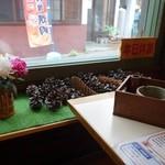 珈琲専科 綾 - (2014/10月)窓際の席の様子