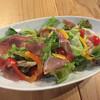 来里 - 料理写真:シェフの気まぐれサラダ