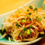 魚串さくらさく - しらす明太(380円)