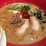 博多 一風堂 - 味噌赤丸 860円 2014.11.18~12.28限定