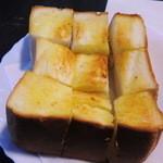 グリル佐久良 - 厚切りバタートースト