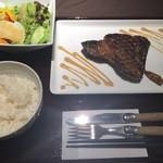 33037559 - 銀座店@熟成和牛肩ロース ステーキ