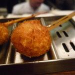 串かつ料理 活 - ☆鮃の葱巻き☆