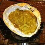 北の味紀行と地酒 北海道 - 蟹味噌の甲羅焼き❤
