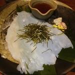 北の味紀行と地酒 北海道 - いかそうめん❤