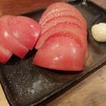 とりこう - トマトスライス(300円)