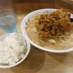 中華 珍来麺工房 - ・「肉みそラーメン(\720)」+「一口ライス(\0)」