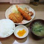 キッチン コロッケ - 盛り合わせ定食