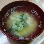 キッチン コロッケ - 味噌汁