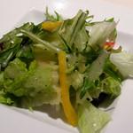 ステーキハウス 牛車 - サラダ