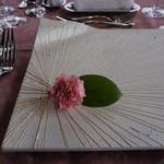 日和庵 - 飾りのお皿