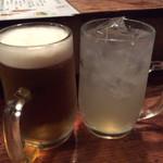 33062456 - 生ビールと酎ハイで乾杯