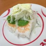 スシロー - えびアボカド(100円+税)2014年11月