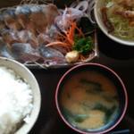 海山幸 - サンマの炙り定食です。