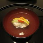 和ごころ 泉 - 蟹しんじょと自家製厚揚げの椀物