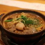 馳走菴 ひじり - うりぼうの、味噌鍋