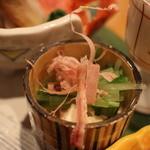 馳走菴 ひじり - 水菜の厚揚げ